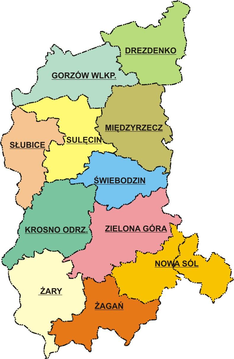 Powiatowe Stacje woj. lubuskiego